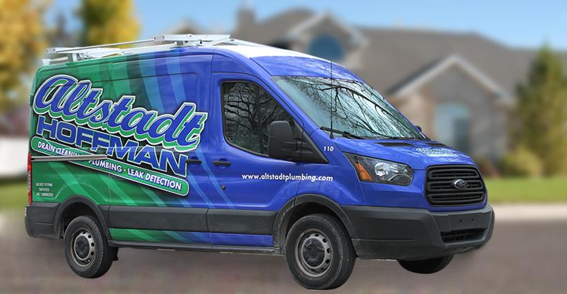 Altstadt Hoffman Plumbing - Evansville Service Truck